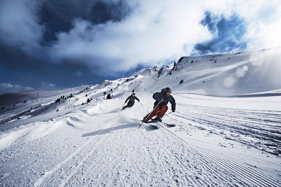 Skiing in the Pitztal